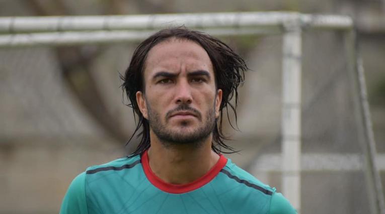 Sebastián Pérez entrenando con Boca Juniors