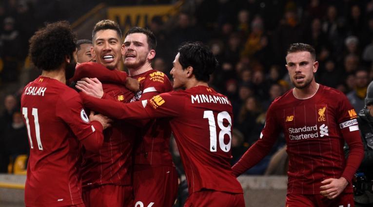 Liverpool Wolverhampton 2020