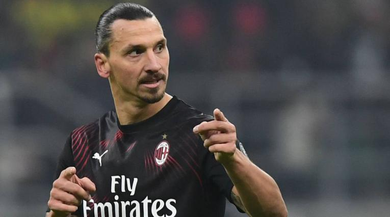 Zlatan Ibrahimovic, delantero del Milan