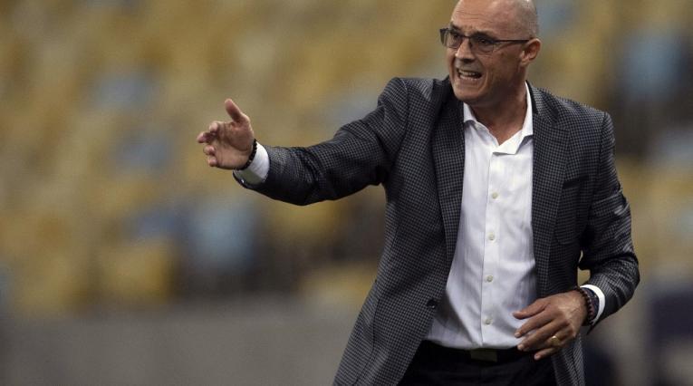 Alfredo Arias, técnico del Deportivo Cali