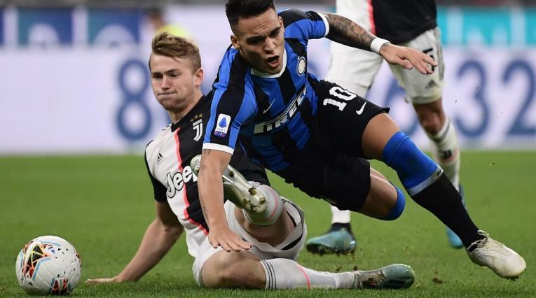 Juventus vs Ínter, Serie A