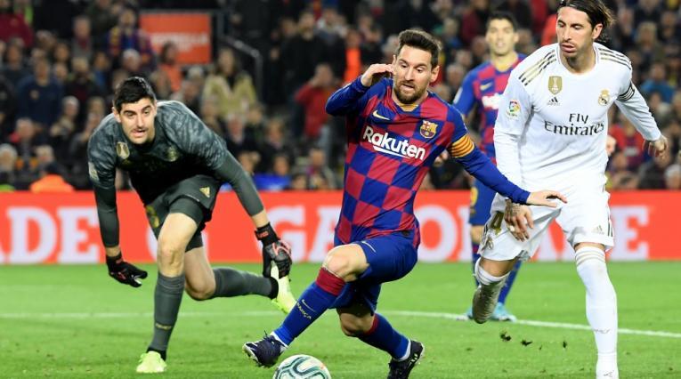 Barcelona vs Real Madrid, liga española