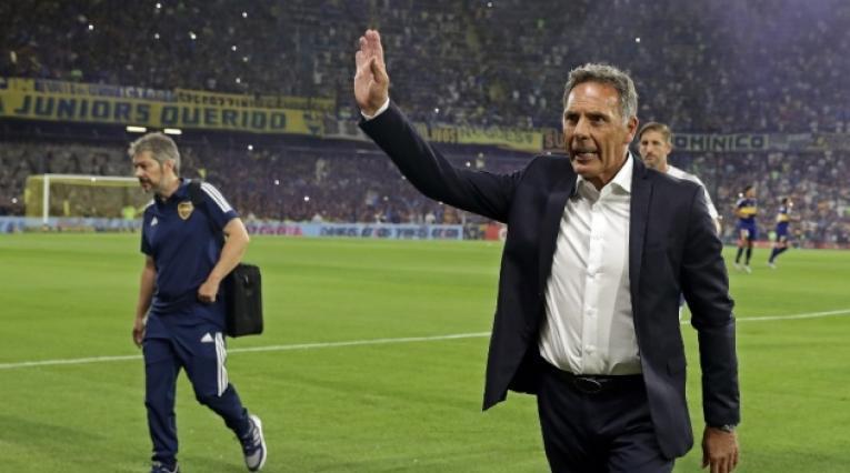 Miguel Russo, técnico de Boca Juniors