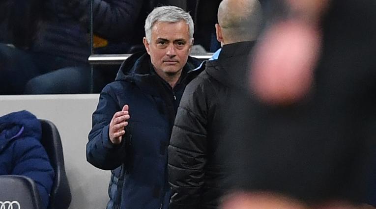 Mourinho y Guadiola - Premier League