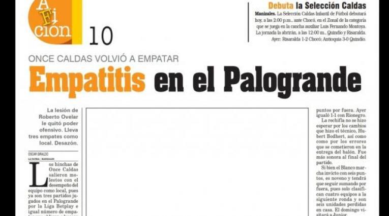 Diario La Patria de Manizales