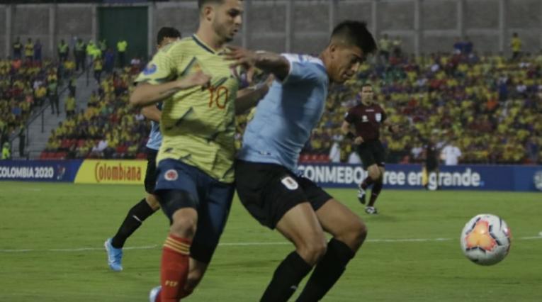 Nicolás Benedetti, atacante de la Selección Colombia