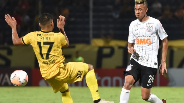 Víctor Cantillo,jugador colombiano del Corinthians de Brasil