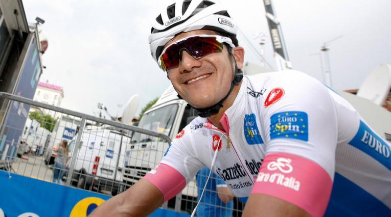 Richard Carapaz, ciclista ecuatoriano