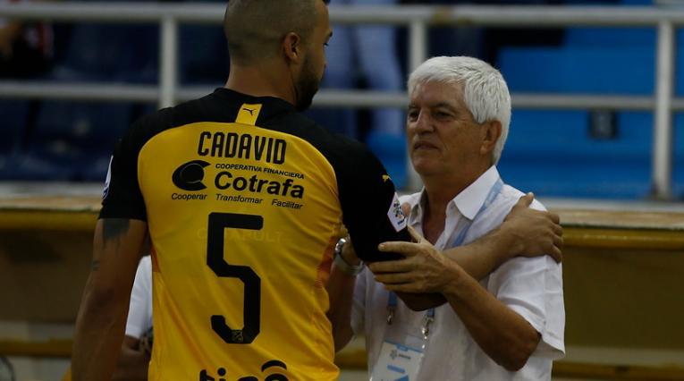 Julio Comesaña y Andrés Cadavid - Junior vs Medellín 2020