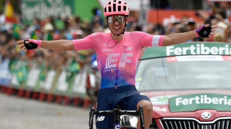 Sergio Higuita Nuevo CAMPEÓN nacional de ciclismo en ruta