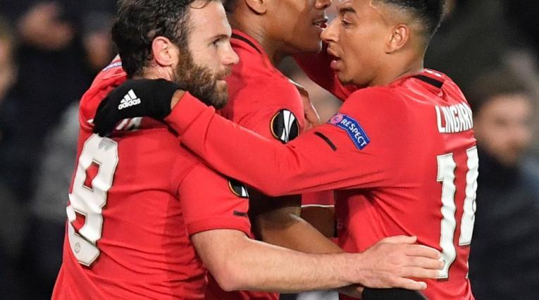 Manchester United, equipo reunido