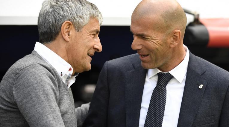 Quique Setién, Zinedine Zidane