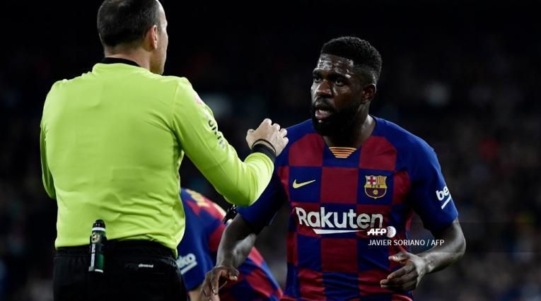 Samuel Umtiti, defensa del FC Barcelona