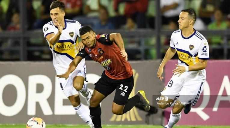 Boca juniors vs Caracas - Copa Libertadores