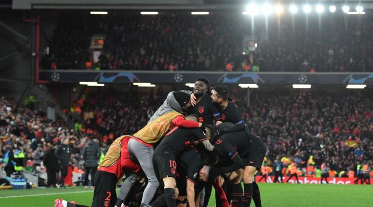 Atlético de Madrid 2020 - Champions League vs Liverpool
