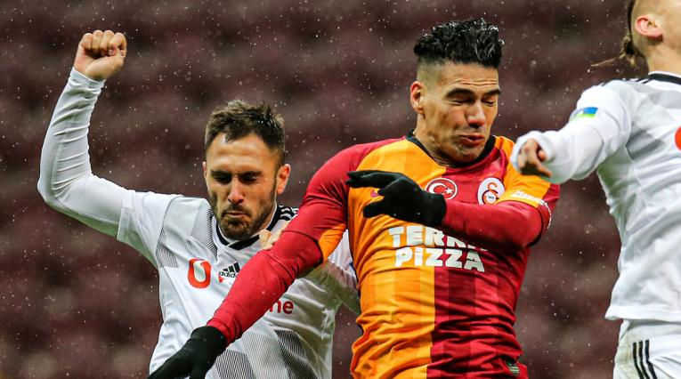 Falcao, Galatasaray vs Besiktas