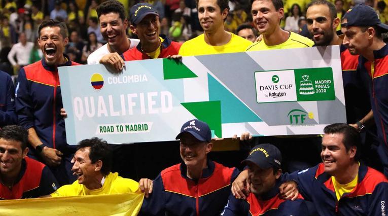 Colombia derrotó a Argentina en la Copa Davis