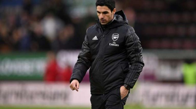 Mikel Arteta, técnico del Arsenal