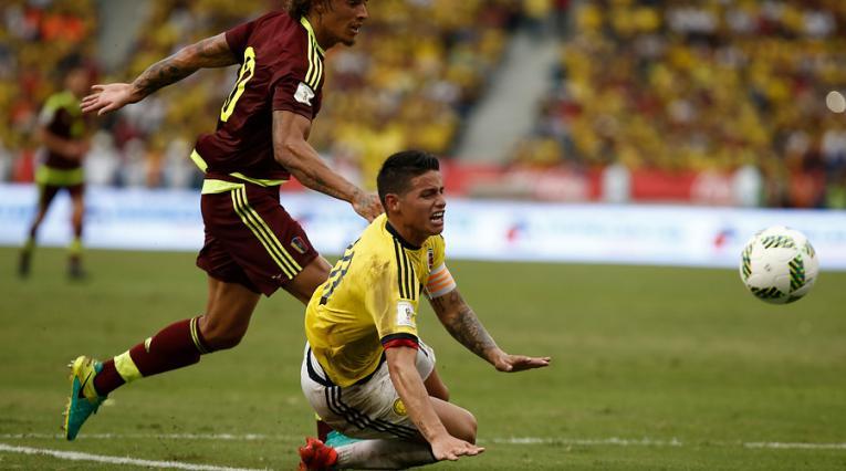 Colombia vs Venezuela, Eliminatorias