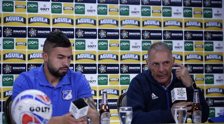 Andrés Cadavid y Miguel Russo en Millonarios