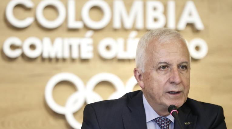 Baltazar Medina, Comité Olímpico Colombiano