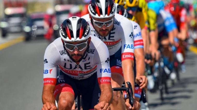 Fernando Gaviria, colombiano del Team UAE