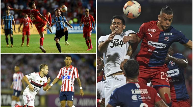 Equipos colombianos en Libertadores