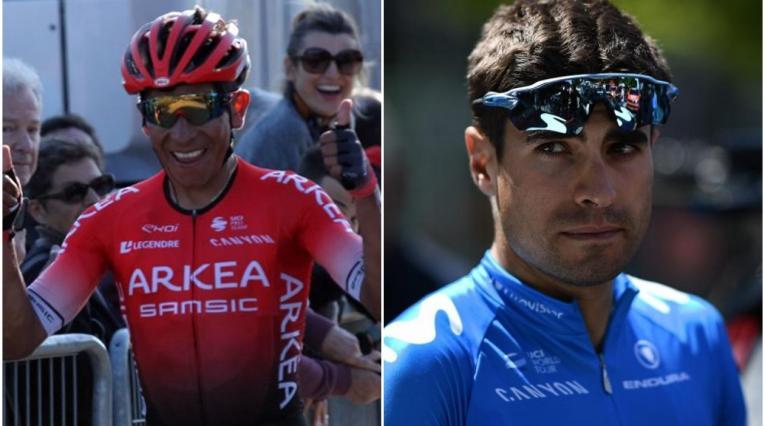 Nairo Quintana vs Mikel Landa en la París - Niza