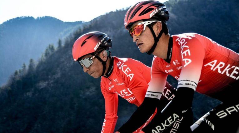 Winner Anacona, ciclista colombiano