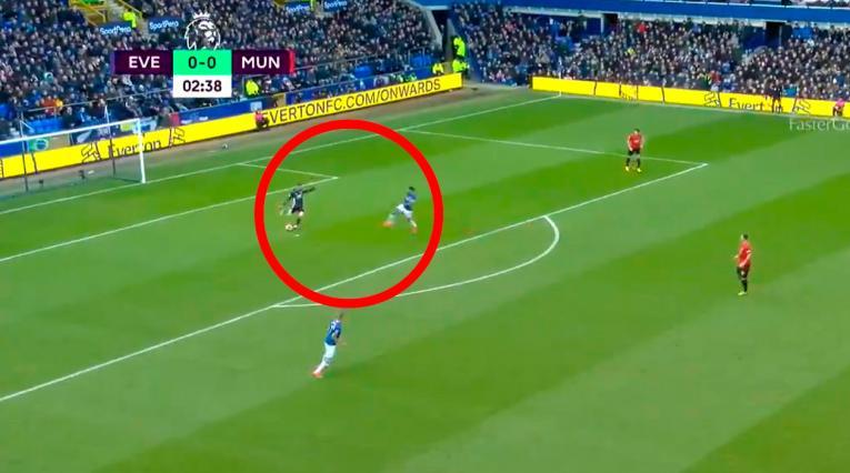 Everton vs Manchester United, Premier League