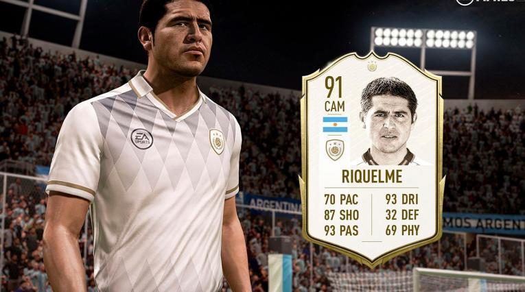 Juan Román Riquelme en FIFA 20