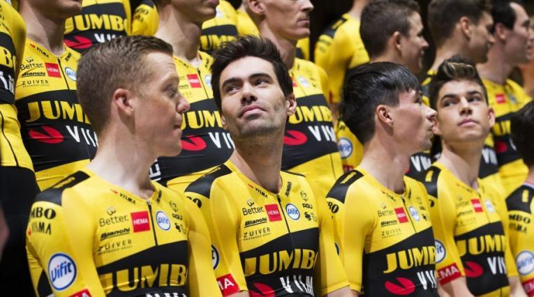 Tom Dumoulin, ciclista holandés del Jumbo Visma