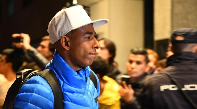 Sebastián Villa, delantero de Boca Juniors