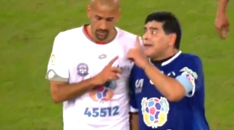 Maradona y Verón - Argentina