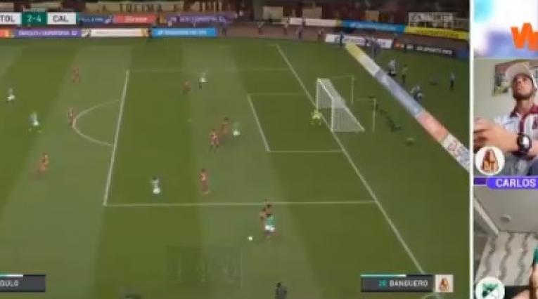 Tolima vs Cali - Liga virtual Dimayor