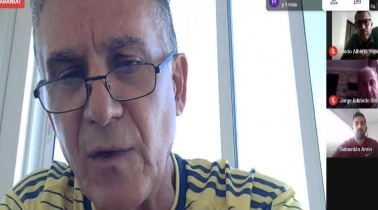 Teleconferencia de Carlos Queiroz