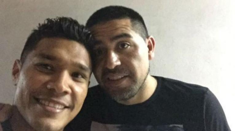 Teófilo Gutiérrez y Juan Rompan Riquelme