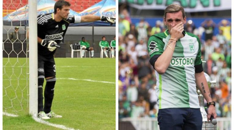 Pezzuti y Armani en Atlético Nacional