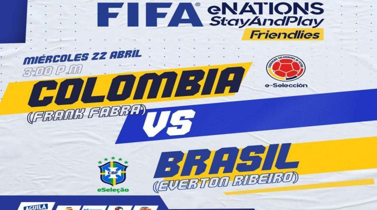 colombia vs BRasil - Fifa20