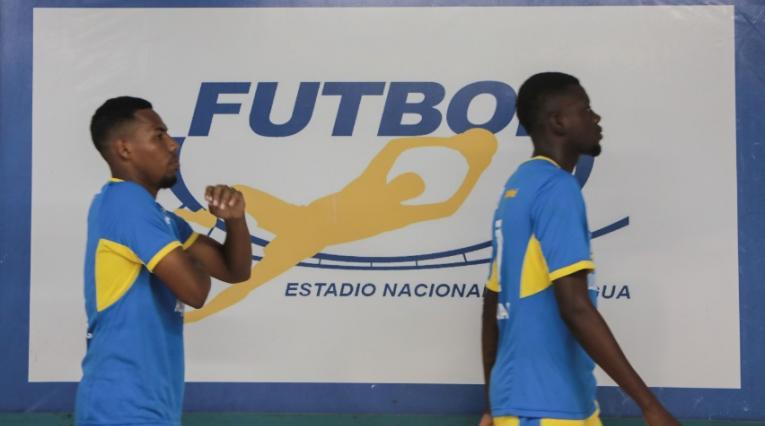 Futbolistas en la Liga de Nicaragua
