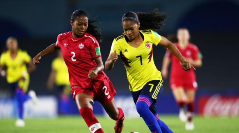 Gisela Robledo- jugadora Colombia
