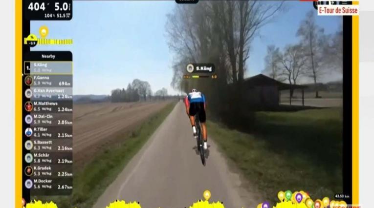 Tour de Suiza virtual etapa 2