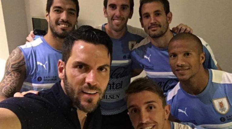 Sebastián Viera y la Selección de Uruguay
