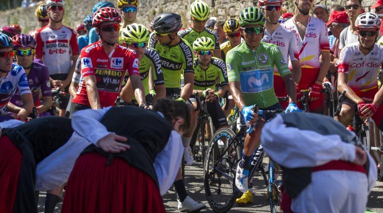 Nairo y Roglic - Vuelta a España 2019