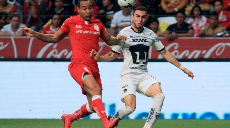 Felipe Pardo, futbolista colombiano en Toluca de México