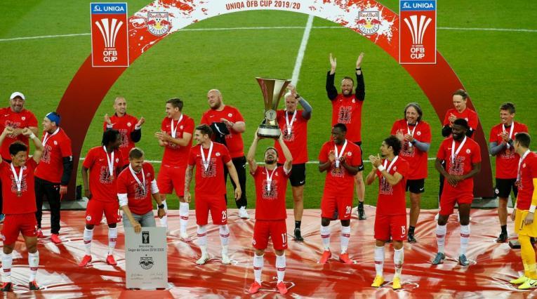 Salzburgo campeón copa de Austria en 2020