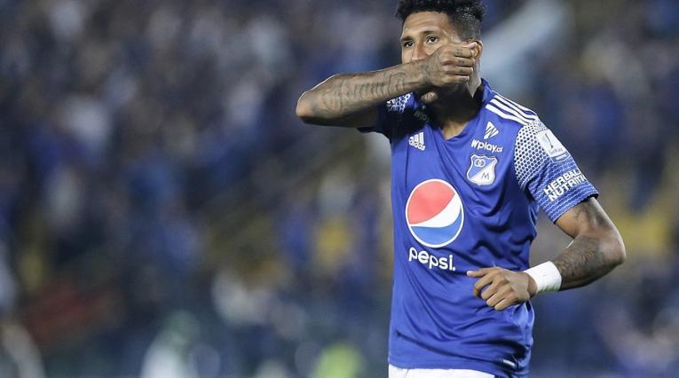 Tico Ortiz, jugador de Millonarios