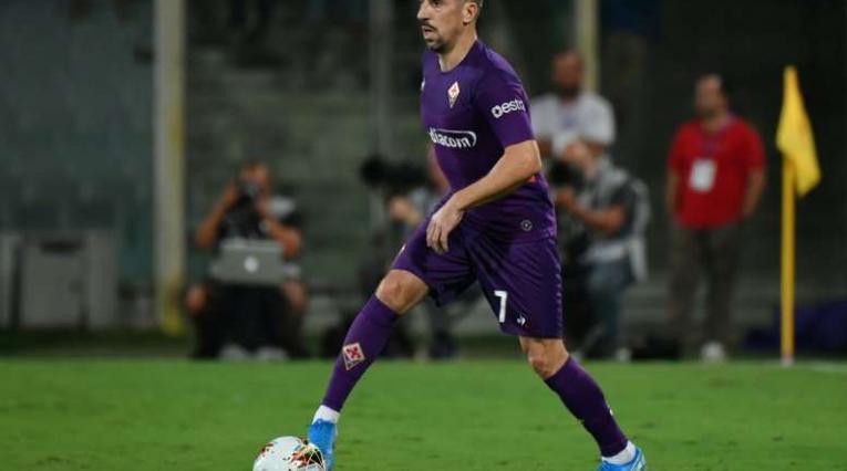 Frank Ribery, jugador de la Fiorentina
