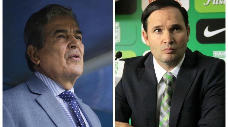 Jorge Luis Pinto y Víctor Marulanda