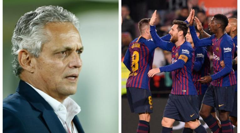 Reinaldo Rueda y FC Barcelona